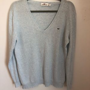 Vineyard Vines Cotton V Neck Sweater